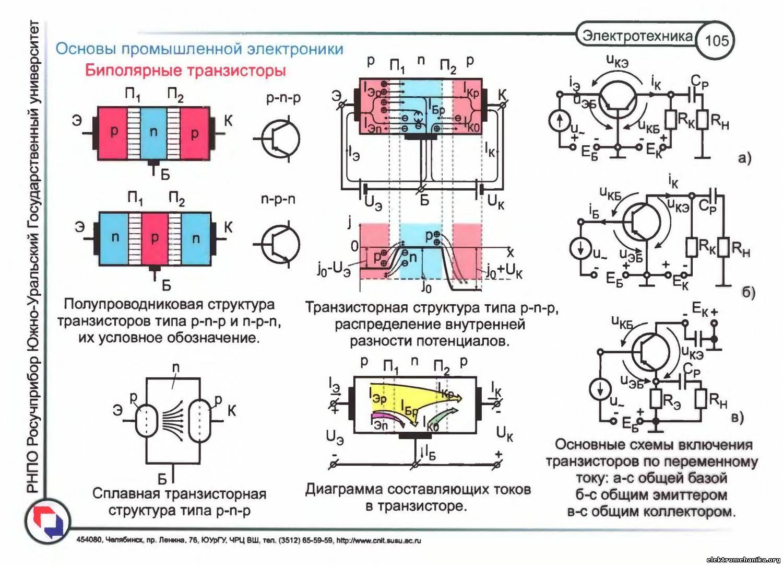 Изображение транзисторов в схеме